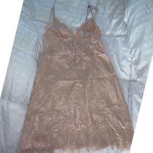 Victoria's Secret Intimates & Sleepwear - Victoria Secret Sexy Rose Gold Night Gown